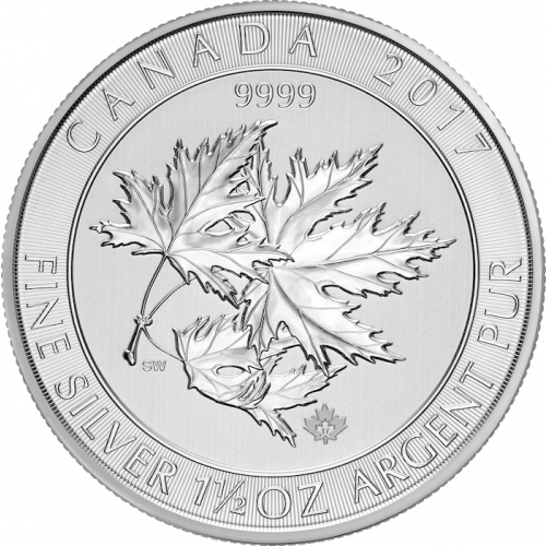 Any Year 1.5oz Canadian Silver Maple Leaves