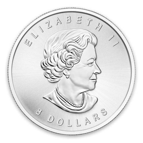 Any Year 1.25oz Canadian Silver Bison