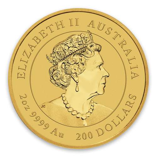 2020 2oz Australian Gold Lunar: Year of the Mouse
