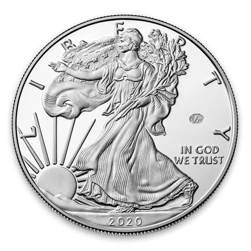 2020 1oz American Silver Eagle End of WWII 75th Anniversary Proof Coin
